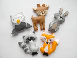 Woodland Animal Nursery Decor by Woodland Stuffed Animals Woodland Decor Forest Animals