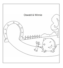 oswald the octopus coloring page coloring home