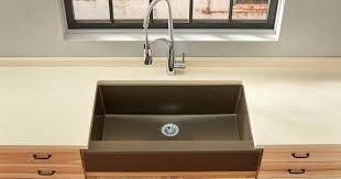 brown kitchen sinks quartz luxe kitchen sinks elkay