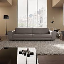 Gray Leather Sofa Modern Gray Leather Sofa Designer Grey Leather Sofa Crimson