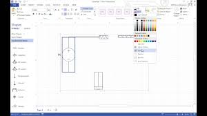 making a circuit in visio youtube