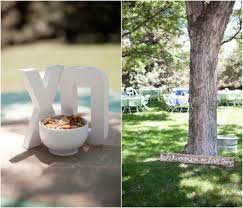 colorado backyard wedding rustic wedding chic