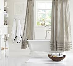Gray Fabric Shower Curtain Top 20 Shower Curtains Decoholic