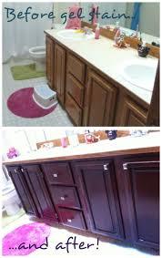 so pretty gel stained cabinets scharlerama