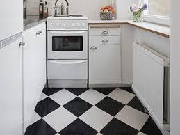 Black And White Kitchen Floor Tiles - modern kitchen with black tiles floor popular references kitchen