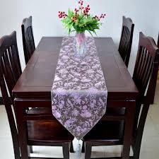 luxury damask table runner high end modern luxury wedding decoration table runners damask silk