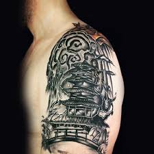 floral tattoo quarter sleeve 70 quarter sleeve tattoo designs for men masculine ink ideas