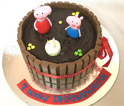 peppa pig cake online peppa pig theme birthday cakes for kids i order online for