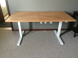 Stand Up Desk Ikea by Instructions For How To Affix An Ikea Gerton Table Top To The Ikea