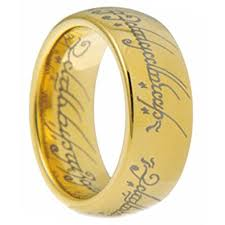 lord of the rings wedding band 8mm gold tungsten carbide lord of the ring men ring band size