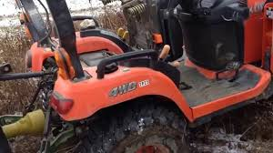 kubota bx 24 pto seat interlock bypass youtube