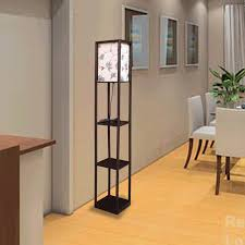 Shelf Floor Lamp Fashionable Floor Lamps With Shelves Home Decorations