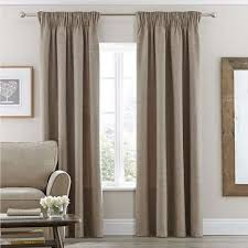 vermont natural lined pencil pleat curtains dunelm