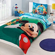 Mickey Mouse King Size Duvet Cover Amazon Com Mickey Mouse Bedding Duvet Cover Set New Licensed 100