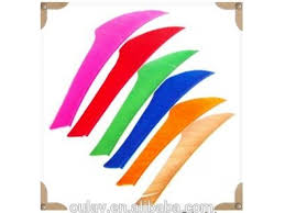 how to make turkey feathers king colorful arrow fletchings 4inch crossbow bolts arrow