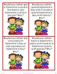 would you rather and opinion writing valentines literacy parent