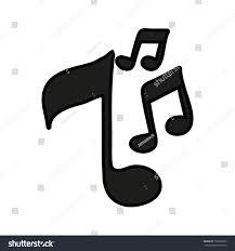 music note semi quaver icon image stock vector 702895093