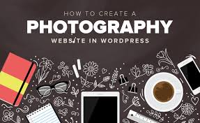 how to create a photography website in wordpress step by step