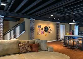 should i paint my ceiling white how to paint basement ceiling plantbasedsolutions co