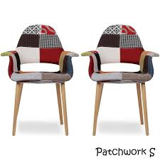 Overstock Armchair 2xhome Set Of 2 Upholstered Modern Organic Chairs Arm Armchairs