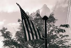 Black And White Us Flag Free Black And White American Flag Stock Photo Freeimages Com