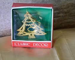 brass ornament tree etsy