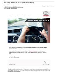 nearest toyota garage 8 performance efficient automotive email design examples
