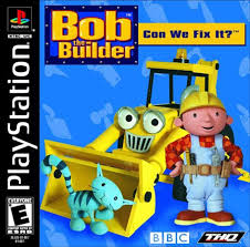 play bob builder fix sony playstation