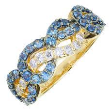 diamonds sapphire rings images Le vian cornflower ceylon sapphire ring in 14kt strawberry gold jpg