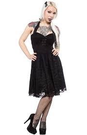 pinky pinups lace halter dress sourpuss clothing