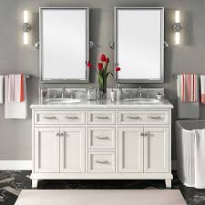 Carolina 60 White Double Sink Vanity By Lanza For The Home