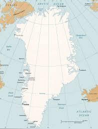 Greenland Map Greenland Map