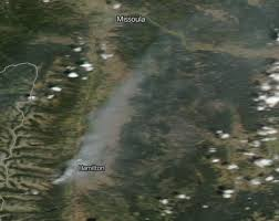 Map Of Oregon Fires by Fires Smoke In Idaho Washington Oregon Nasa