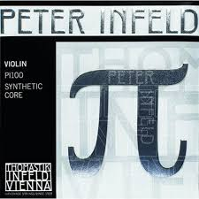 peter infeld pi violin set with platinum plated e string and