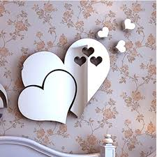 Mirror Stickers Bathroom New Mirror 3d Wall Stickers Self Adhesive Mirror
