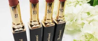 Lipstik Purbasari Nomor 90 tidak percaya diri dengan bibir hitam berikut beberapa produk