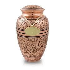 urns for cremation copper oak cremation urn large