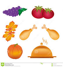 food for thanksgiving day stock illustration illustration of food
