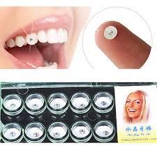 10pcs set dental gems imitation care tooth ornaments