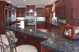 Black Glazed Kitchen Cabinets by Cherry Kitchens Wood Hollow Cabinets