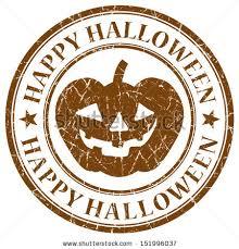halloween stamp stock vector 114631747 shutterstock