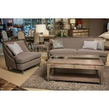 wood trim sofa dallas wood trim living room haze by michael amini