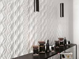 indoor tile wall porcelain stoneware geometric pattern 3d