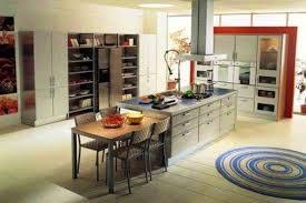 modele cuisine avec ilot model de cuisine americaine cuisine amacnagace ouverte