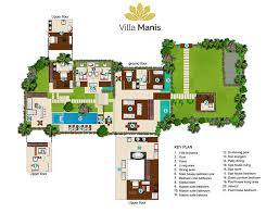 floorplan villa manis u2013 8 bedrooms villa for rent in canggu bali