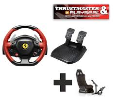 ferrari steering wheel thrustmaster 458 spider for xbox one ready to race bundle