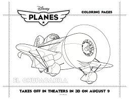 disney planes printable el chupacabra coloring sheet mama likes this