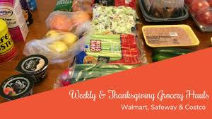 healthy grocery haul 82 bonus thanksgiving grocery haul