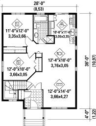 simple house plan floor main level e and decor
