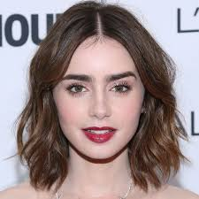 Hair Color For White Skin The Beauty Evolution Of Lily Collins Beautyheaven